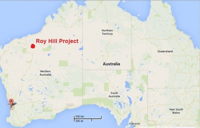 Roy Hill Map - Osmoflo WTP